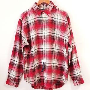 Ralph Lauren Christmas Plaid Cotton Flannel